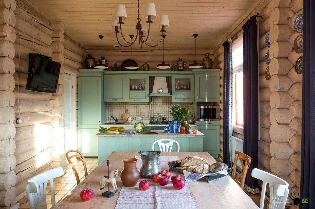 Кухня в стиле французской провинции