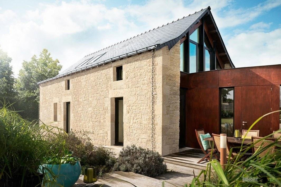 Дом из искусственного камня