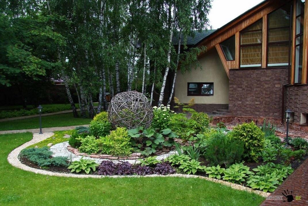 Дизайн садовых клумб