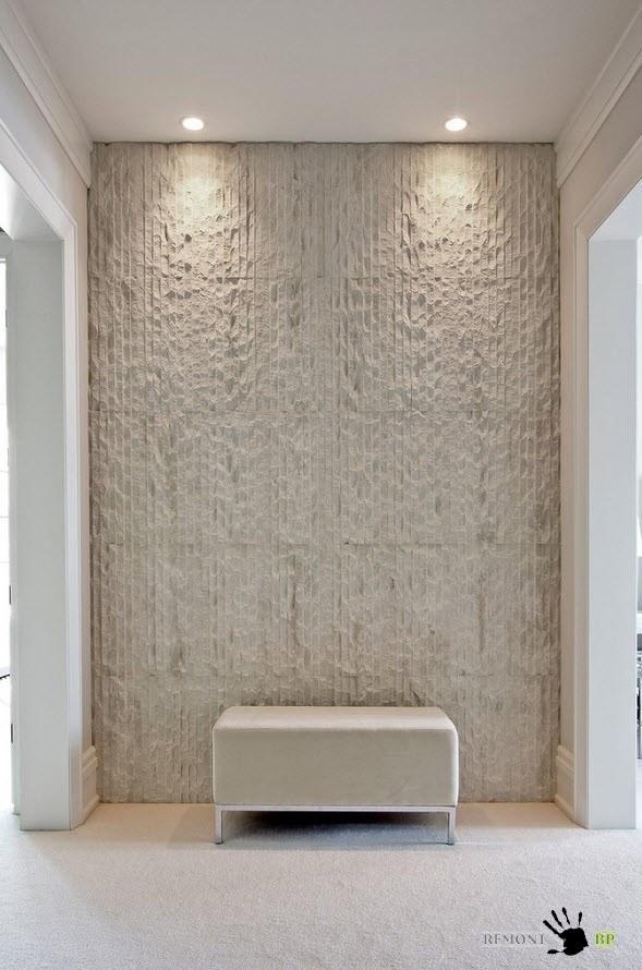 Рельефная стеновая панель