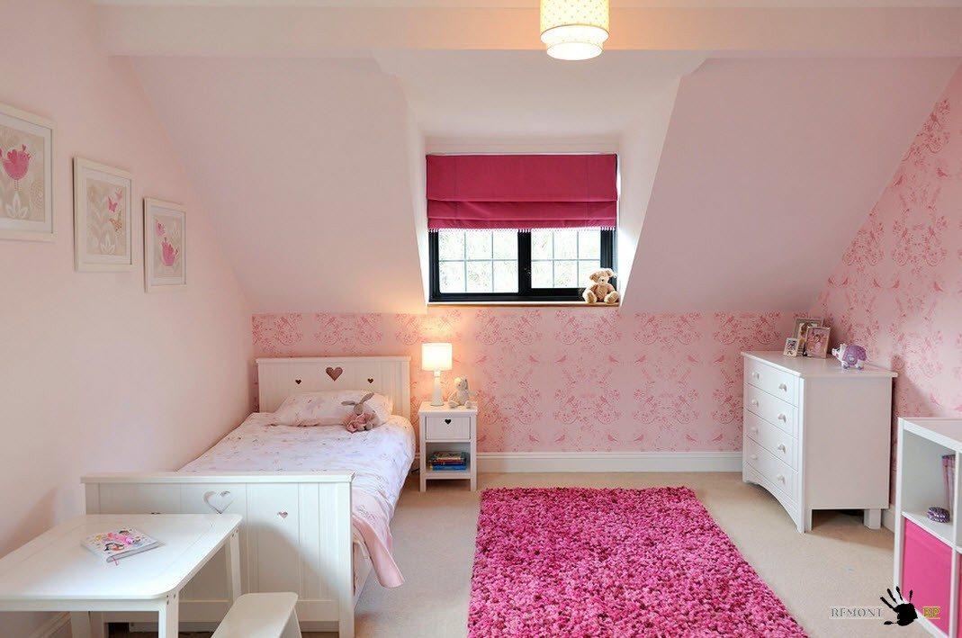 Светло-розовые тона