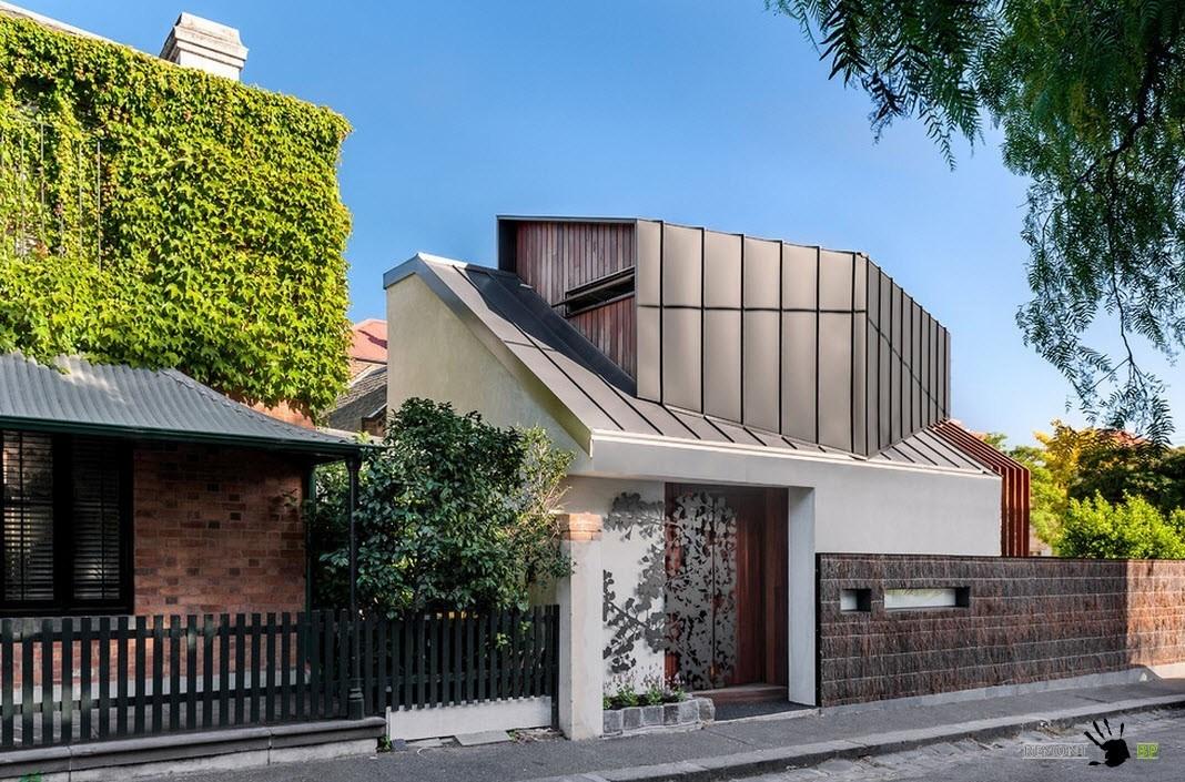Оригинальный фасад дома