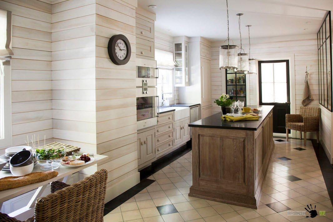 Отделка кухонного помещения