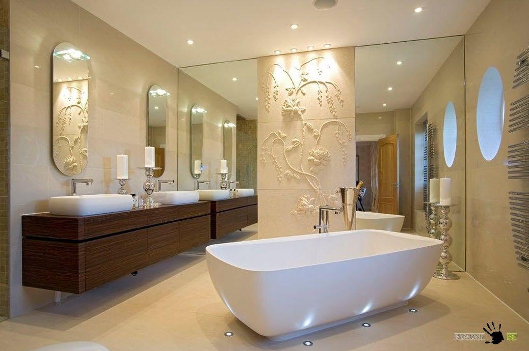 Рельеф для ванной