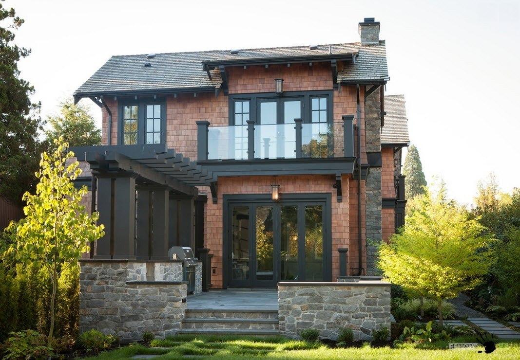 Красивые частные дома фото