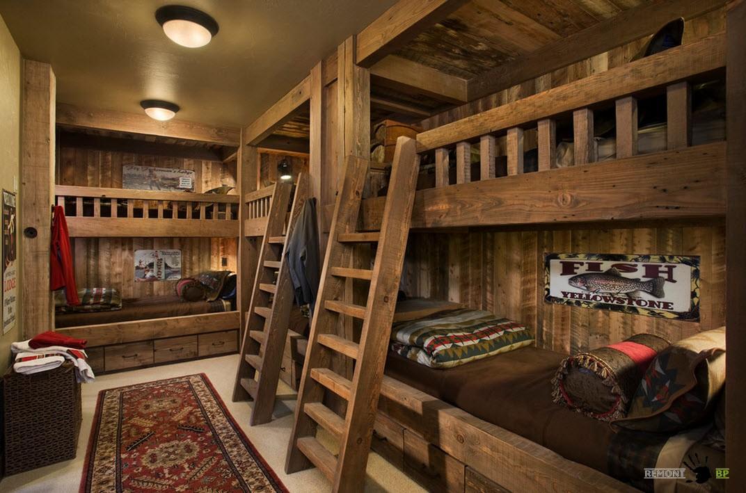 Оригинальные спальные места