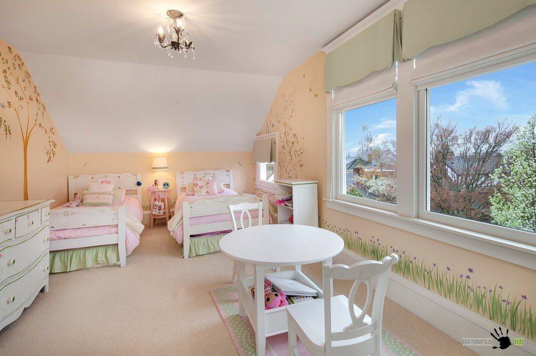 Комната для маленьких леди