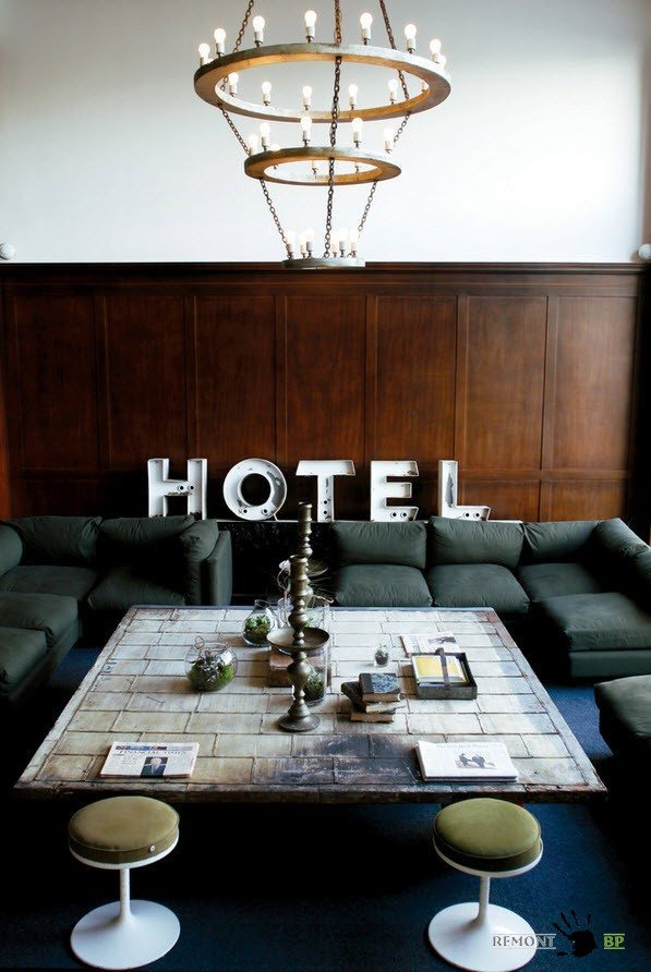 Отельный стиль