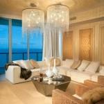 Люстра для гостиной – центральный элемент освещения