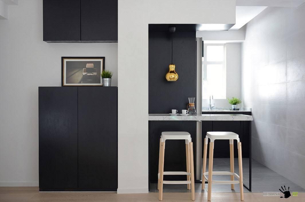 Дизайн однокомнатной хрущевки: квартира 40 кв