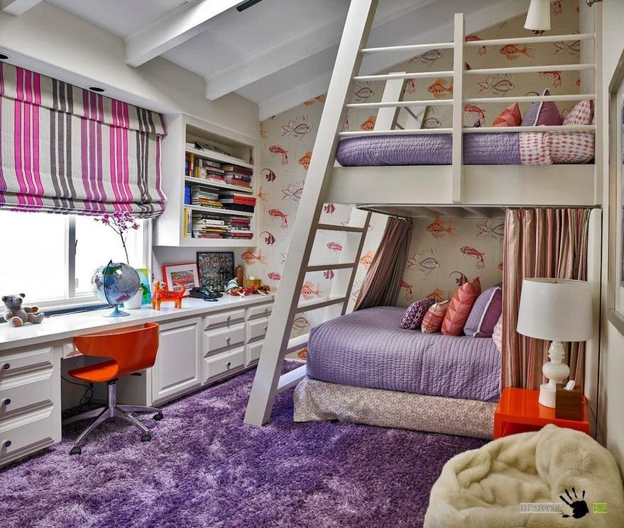 Большие спальные места