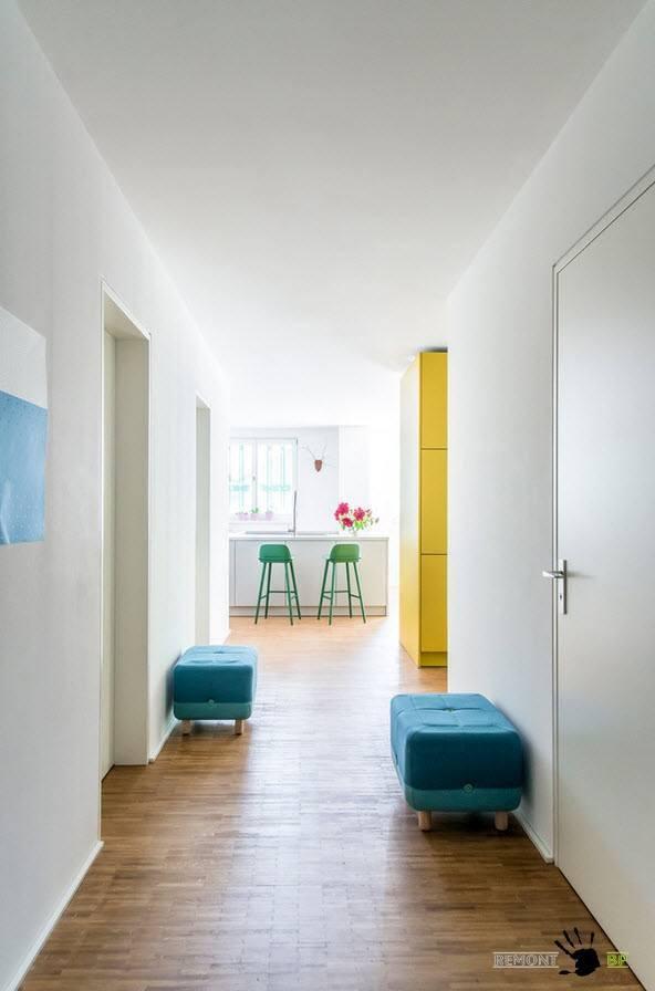 Белоснежный коридор