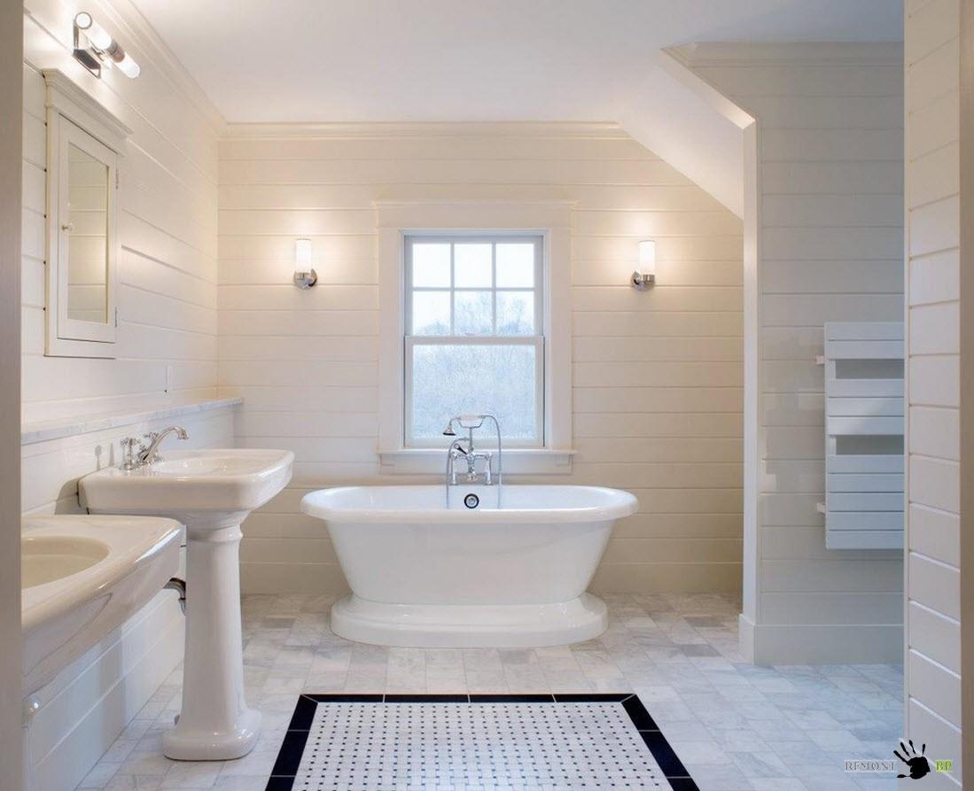 100 лучших идей для белой ванной комнаты на фото, Интерьер и Дизайн