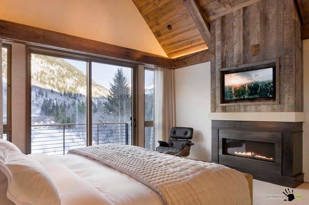 Отличный вид в спальне