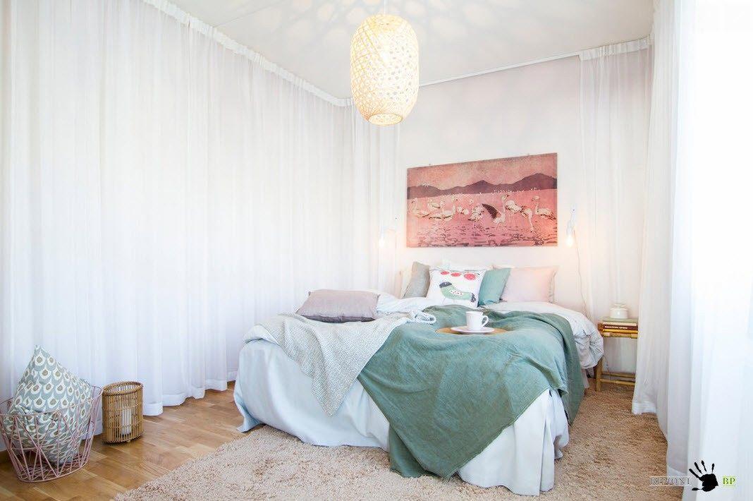 100 лучших идей для оформления стен в спальне на фото