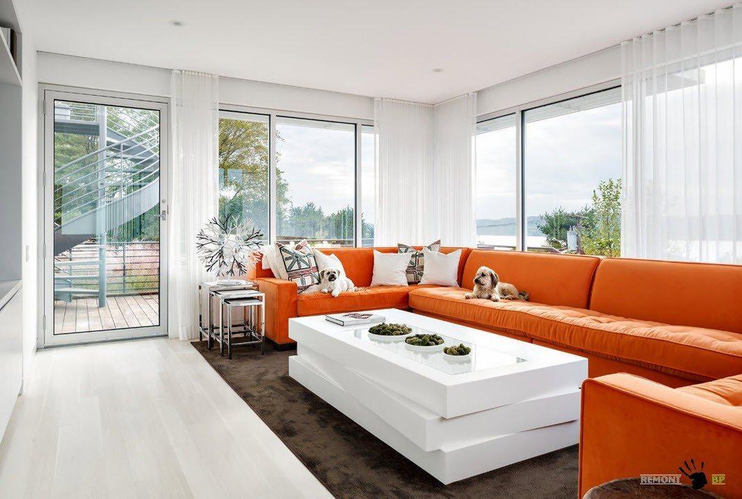 Апельсиновая мебель