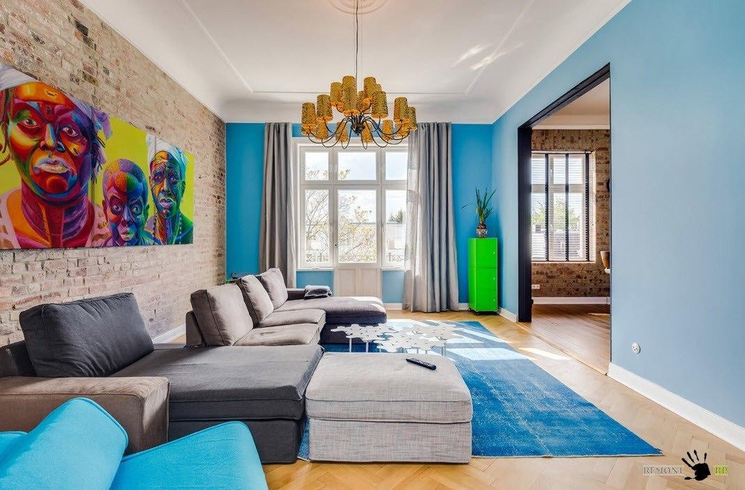 Фото яркие интерьеры квартир