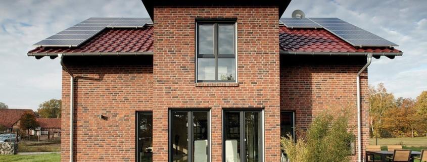 Кирпичный дом в Германии