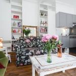 Дизайн парижской квартиры в стиле винтаж