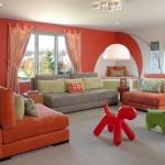 Оранжевая гостиная – праздник, который всегда с вами