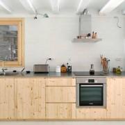 Дизайн однорядной кухни