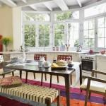 Яркие и практичные идеи для оформления кухни-столовой