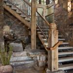 Лестница для загородного дома – 1000 идей на любой вкус
