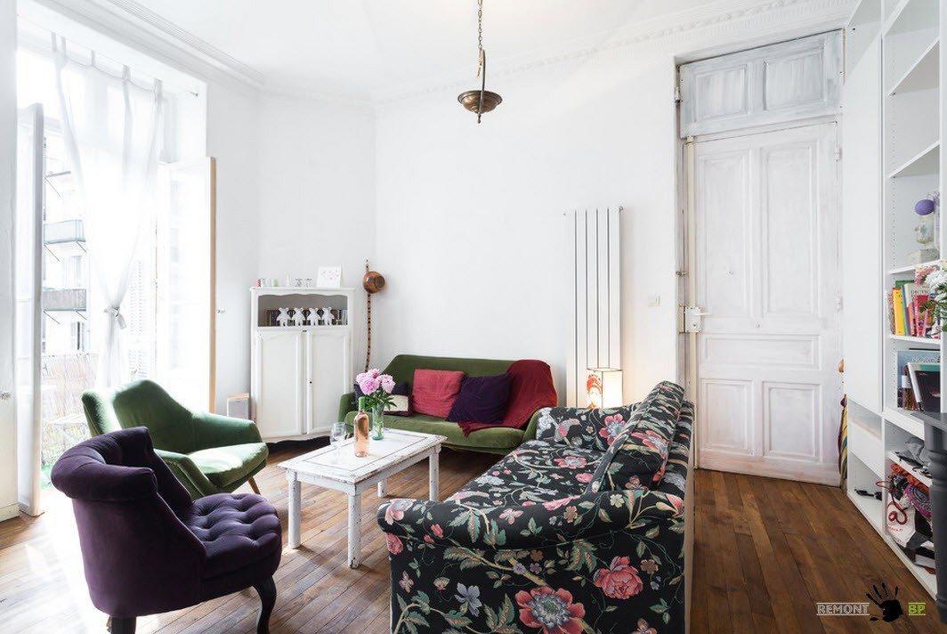 Мягкая мебель гостиной