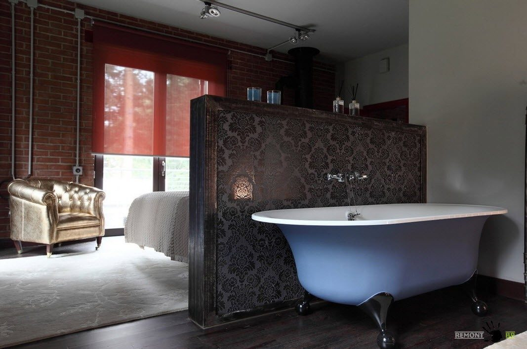 Ванная в спальне