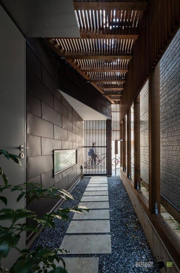 Частный дом в Японии