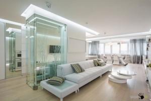 Оригинальный дизайн ростовской квартиры