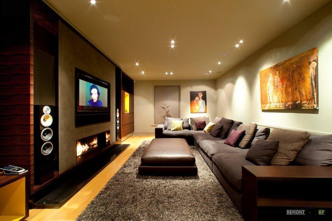 Роскошный коттедж, оформленный в стиле контемпорари на фото