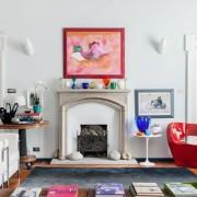 Колоритный дизайн миланской квартиры