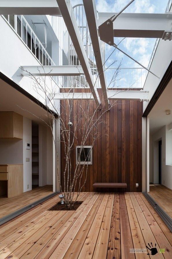 Дом в форме колодца