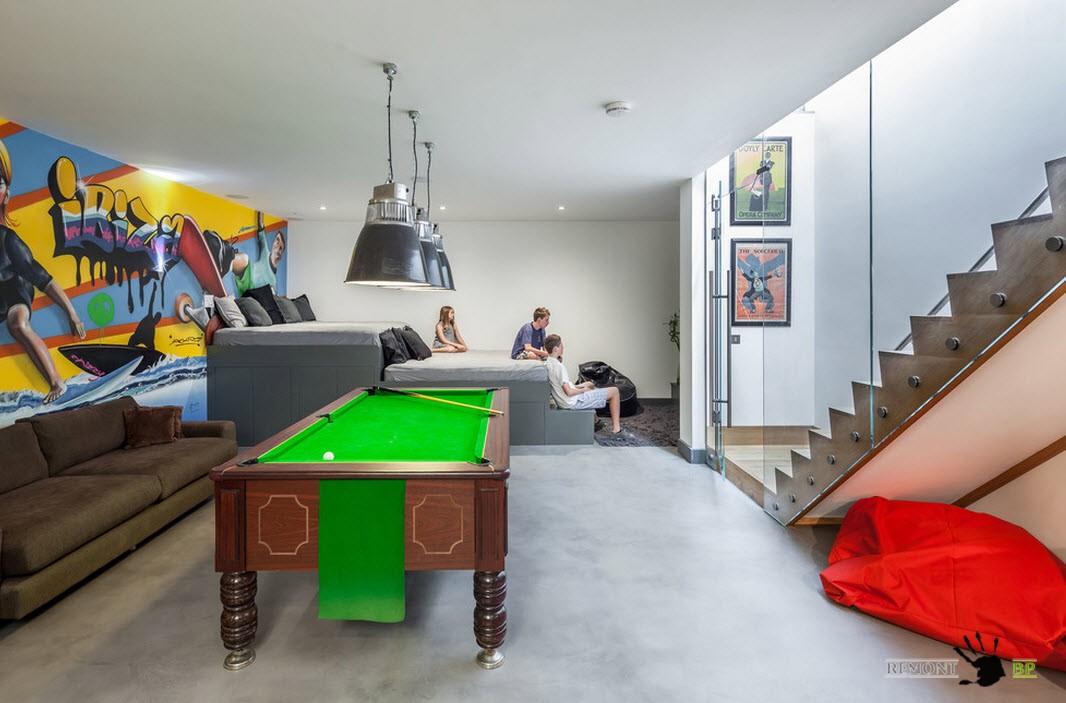 Гостиная и игровая