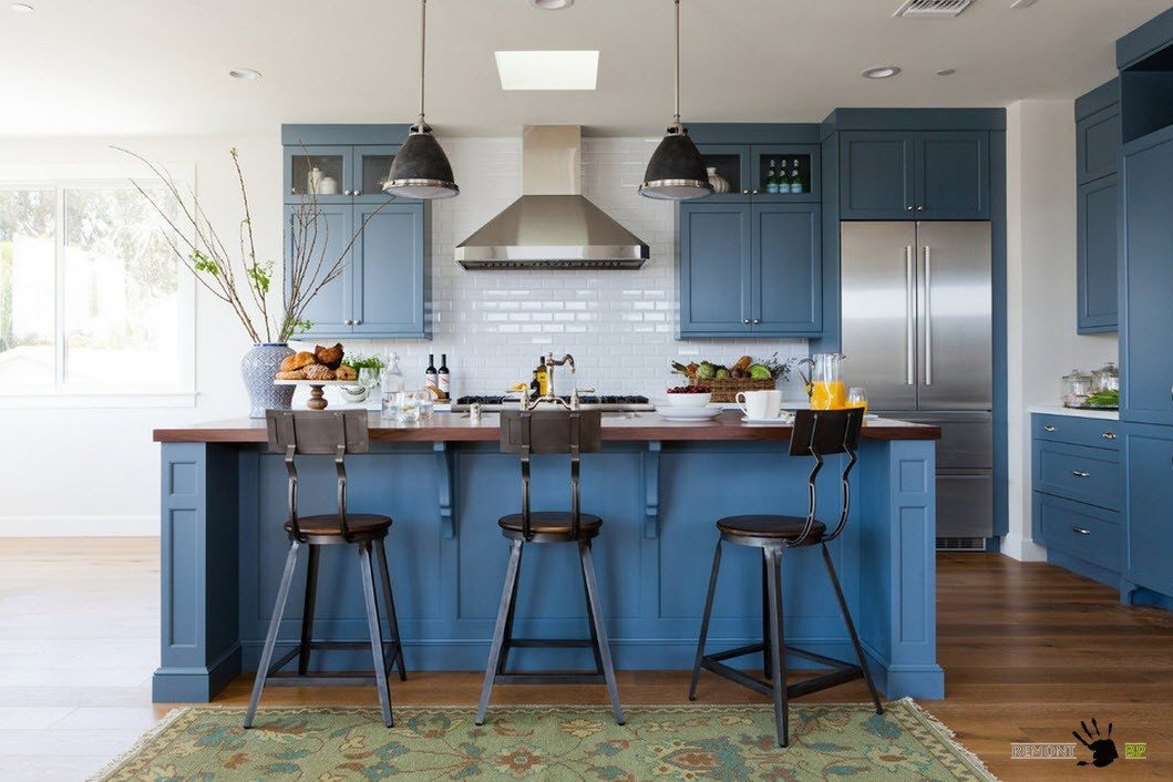 Кухня с островом: 100 лучших идей дизайна на фото