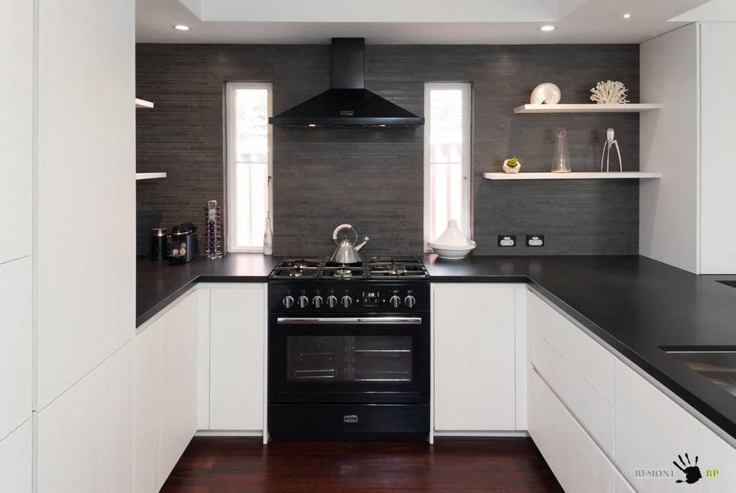 П-образная планировка кухни: 35 идей дизайна на фото