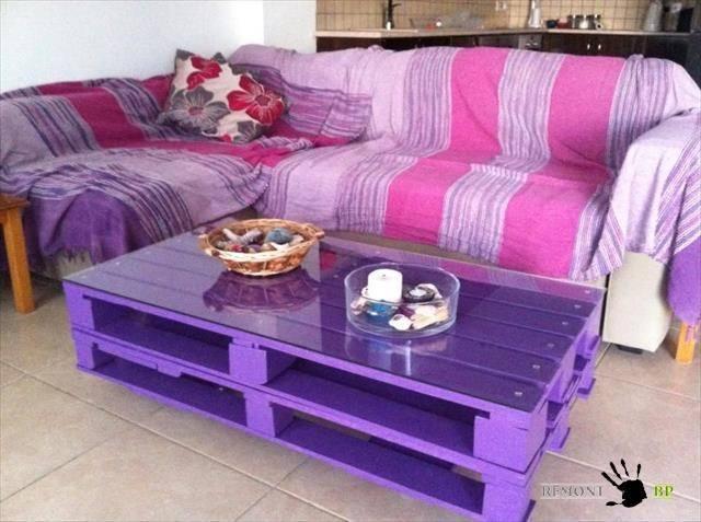 В фиолетовых оттенках