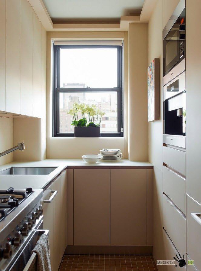 Маленькое кухонное помещение