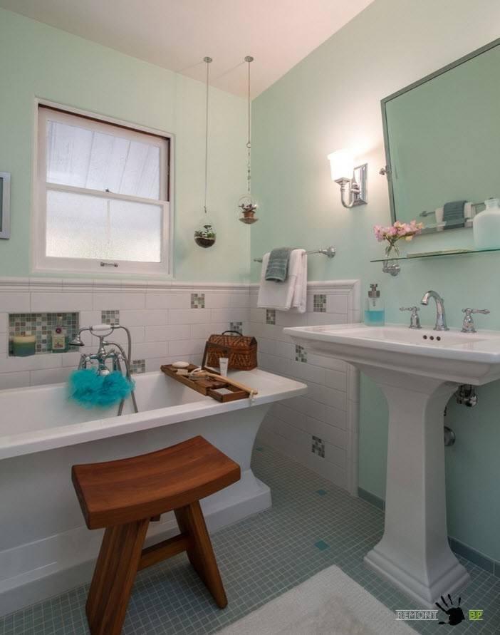 100 лучших идей для маленькой ванной 3 и 4 кв