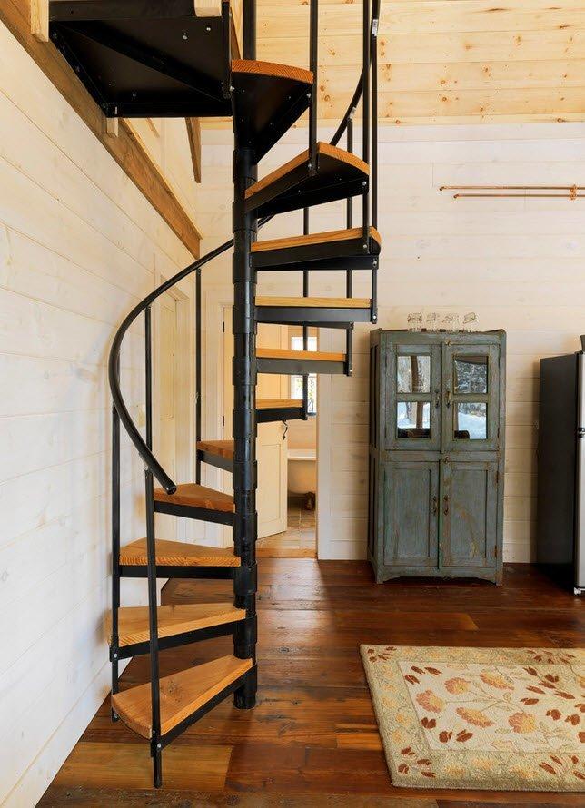 Лестница винтом