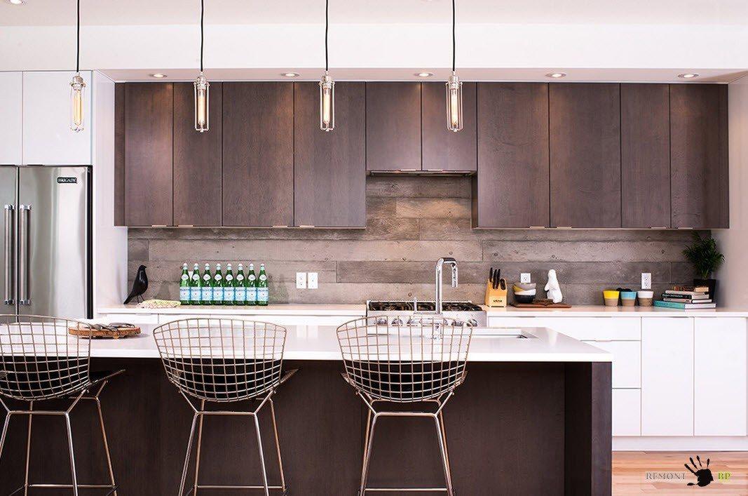 Кухня цвета венге: 50 лучших идей для кухонного гарнитура на фото