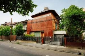 Оригинальное строение в Румынии