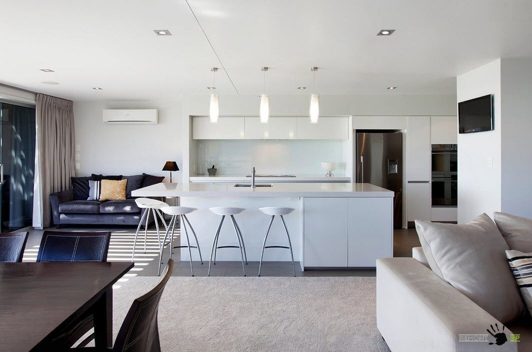 Кухня в центре