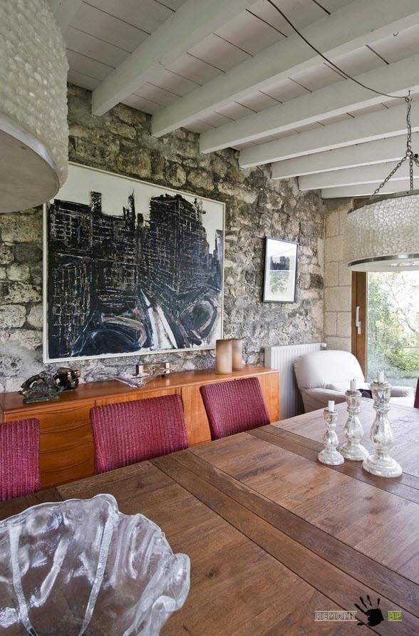 Декорирование столовой в винтажном стиле