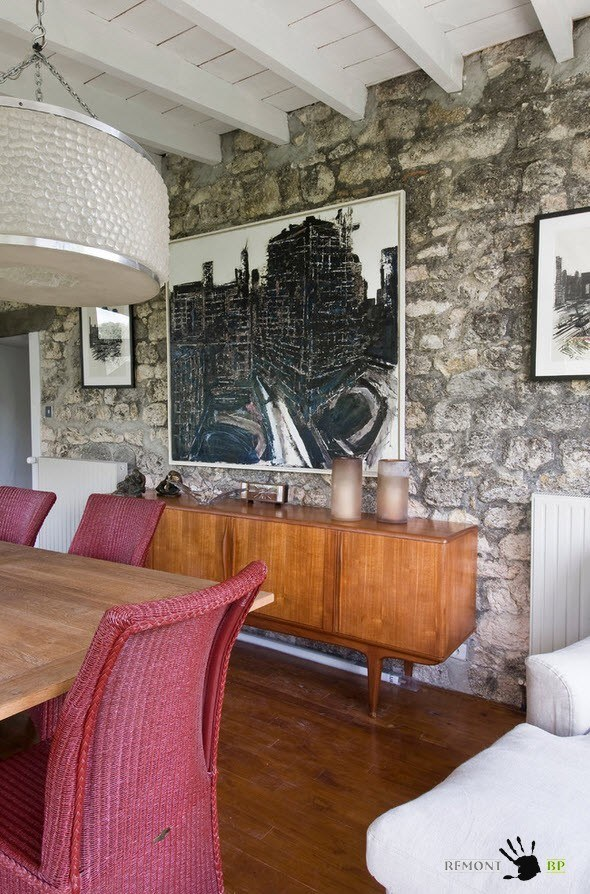 Оформление столовой зоны мебелью