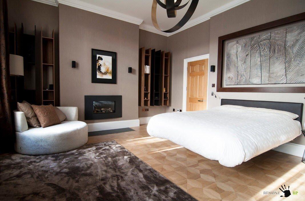 Кровать в воздухе
