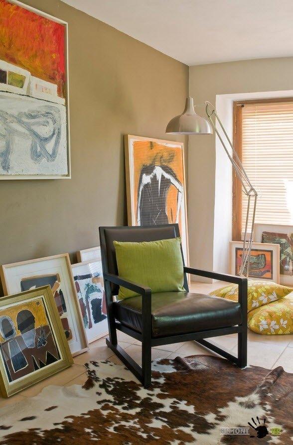 Множество картин для декорирования помещения