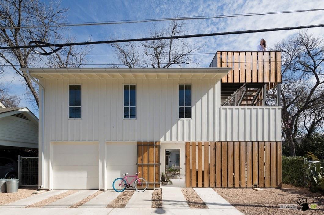 Белый фасад: красивые дома белого цвета на фото