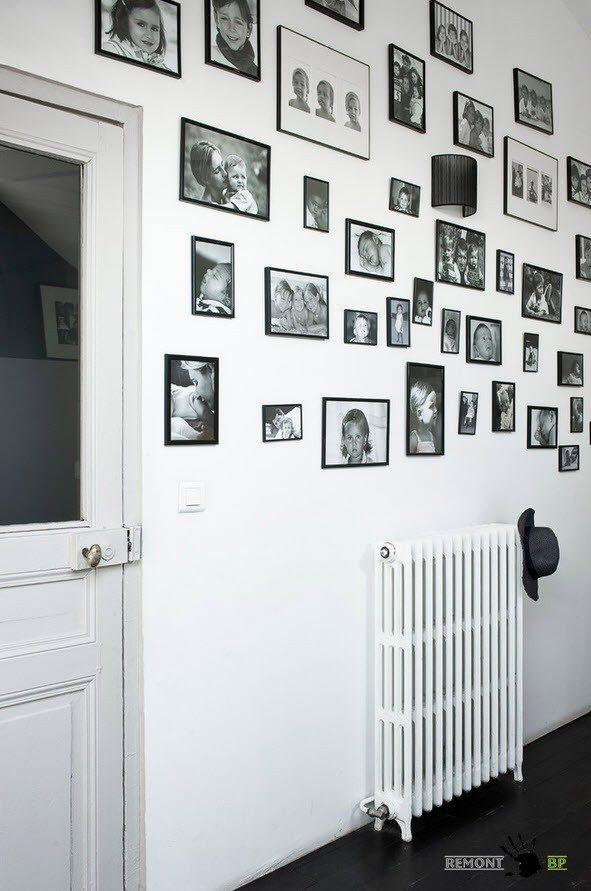 Фото на стенах
